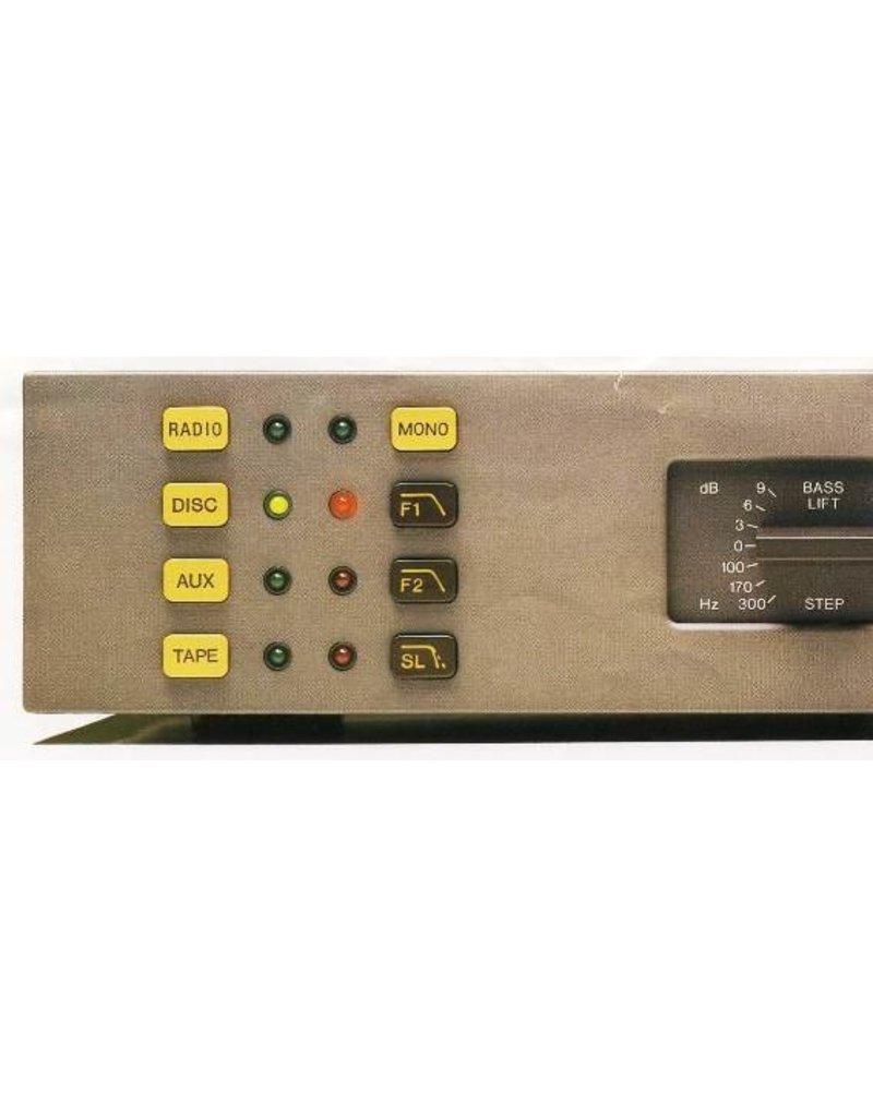 Quad 34 Radio Button Yellow