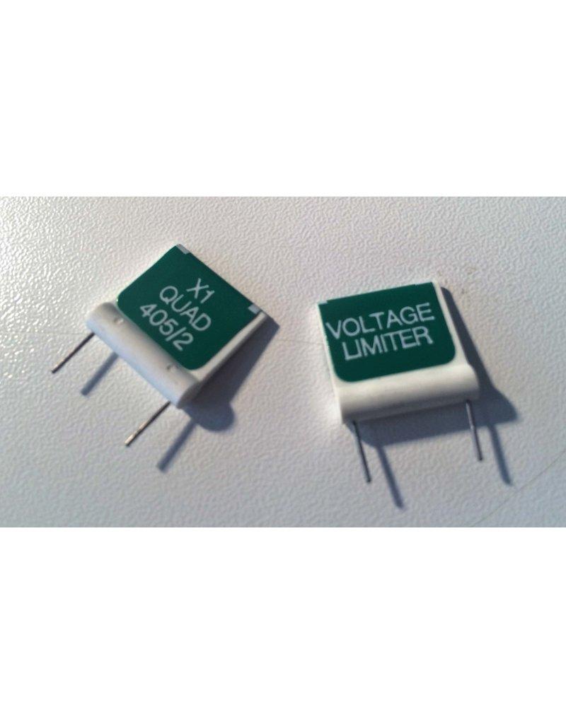 Quad 405 Voltage-limiter flag