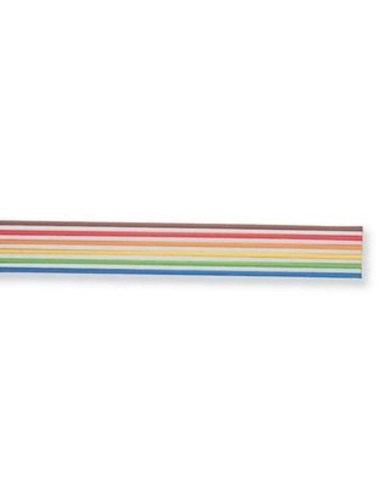 Ribbon Cable, 6-Way, 24AWG, 300V, 2,54mm Klasing