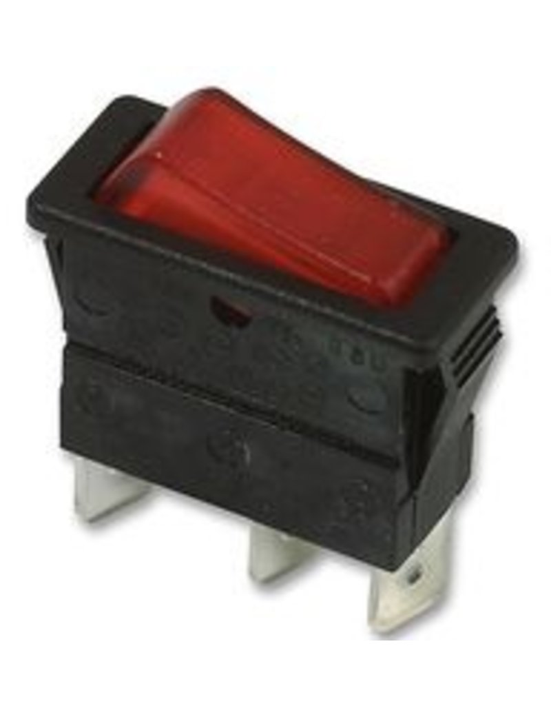 Rocker Switch Illuminated 16A SPST Arcolectric