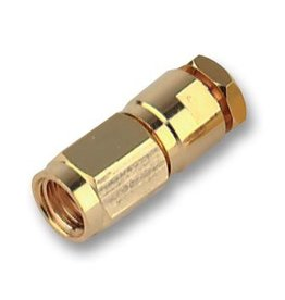 SMC Male connector Straight Solder 50 Ohm RG174 Multicomp