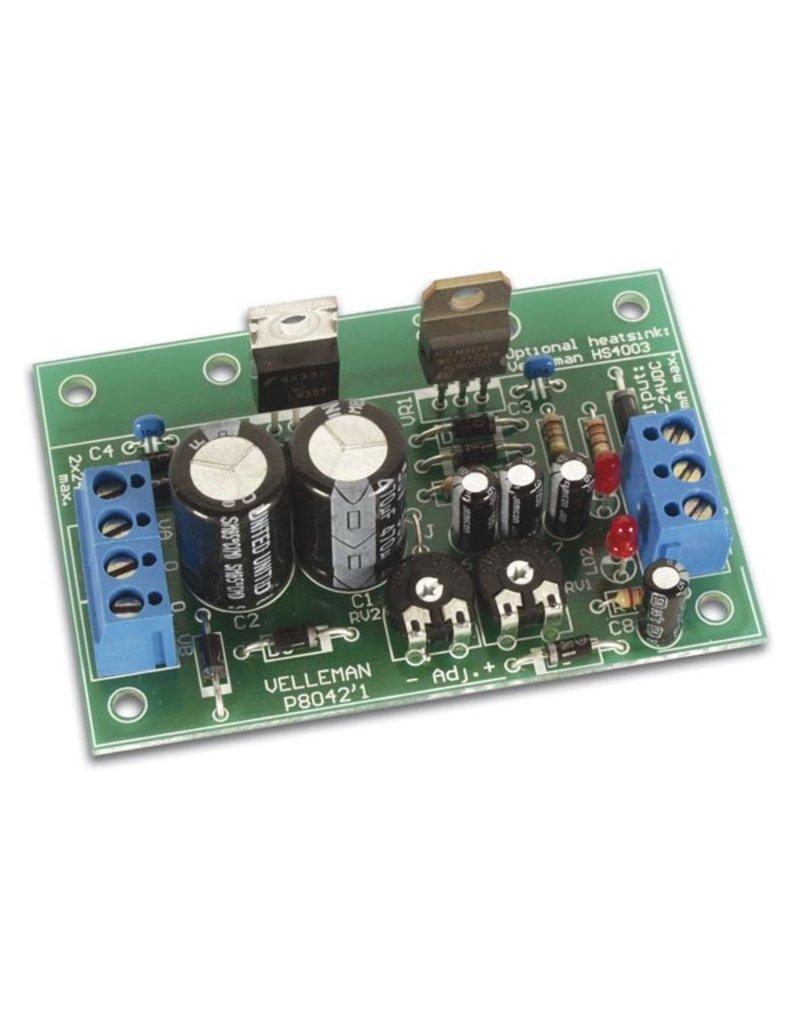 Velleman Velleman K8042 Symmetric 1A Power supply