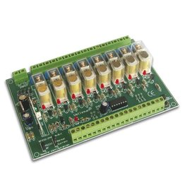 Velleman Velleman K8056 8-Channel Remote Controlled Relay Card Kit