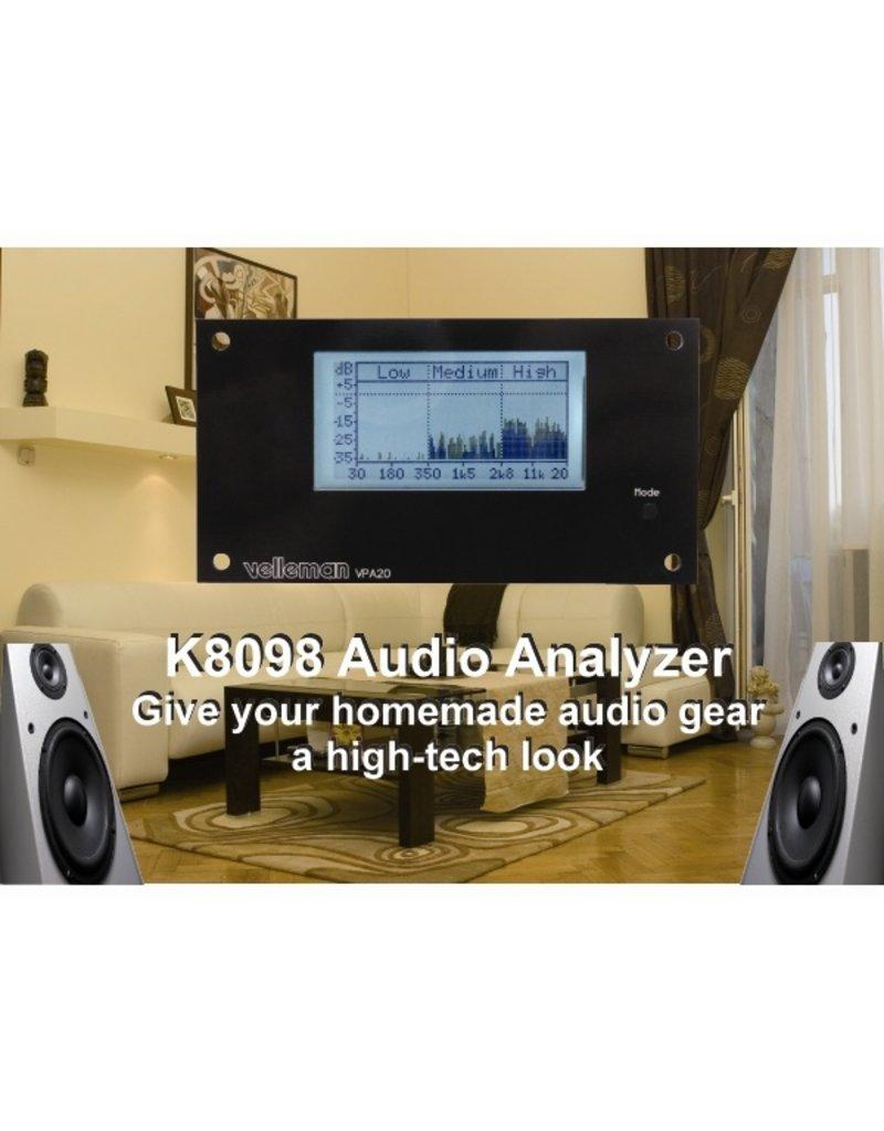 Velleman Velleman K8098 Audio Analyser