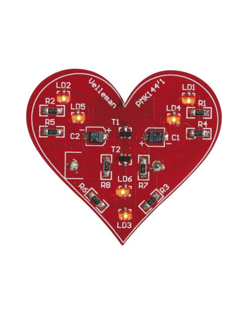 Velleman Velleman MK144 SMD Flashing Heart