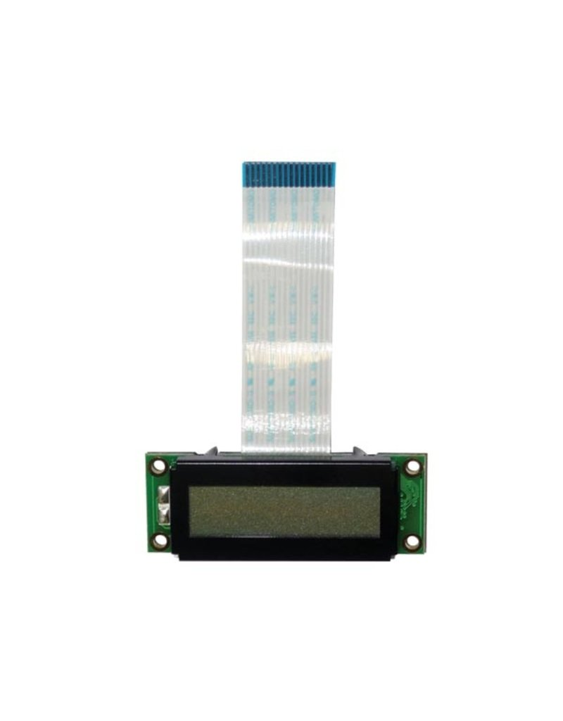 Velleman Velleman PC1602WRS-KWA-E LCD 16x2 STN Grey Positive Transflective WHITE Backlight