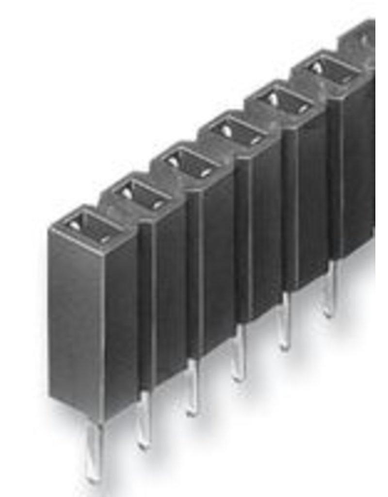 Header Socket 2,54mm 36 Way