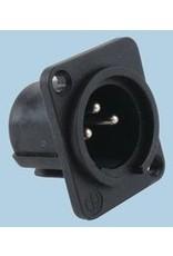 Neutrik XLR 3-Pole Male Chassis