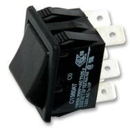 Arcolectric Rocker Switch DPDT On-Off-On 16A Arcolectric