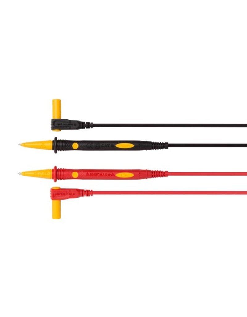Velleman PVC Test Lead set Cat IV 15A 100cm TLM72