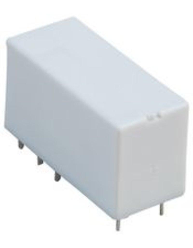 Relpol Power Relay, DPDT-2NC / 2NO, 24 V, 8 A, RM84 Series, Socket, DC