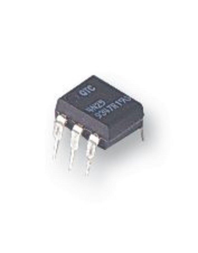Vishay IL420, Optocoupler, Triac Output, DIP, 6 Pins, 5.3 kV, Non Zero Crossing, 600 V
