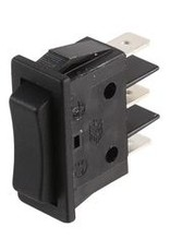Molveno Rocker Switch (On)-Off-(On) SPDT 16A 250V