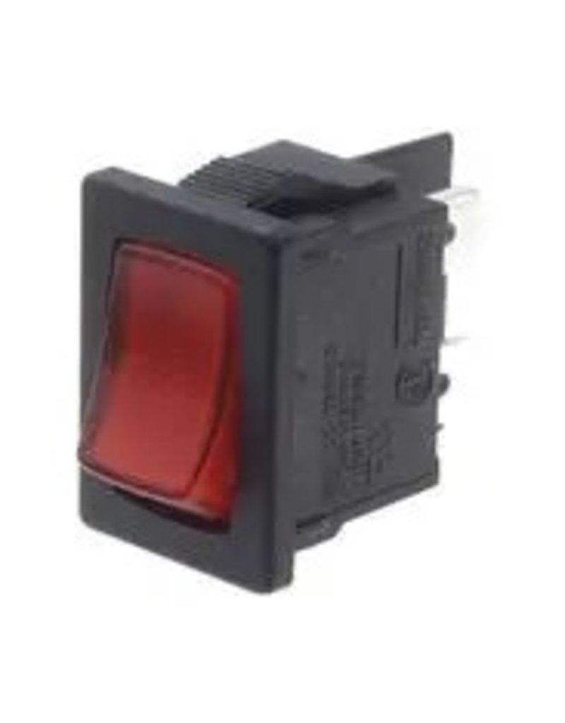 Multicomp Rocker Switch DPDT 12A Illuminated
