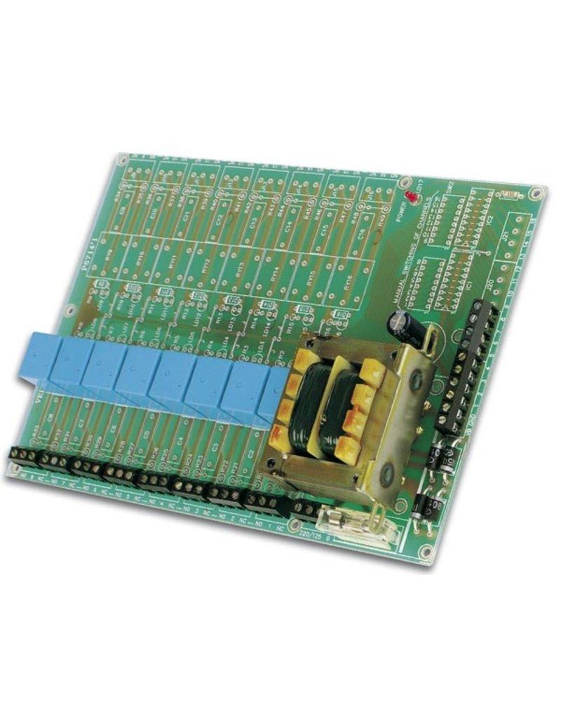 Velleman Velleman K8056 Universal Relay Card Kit