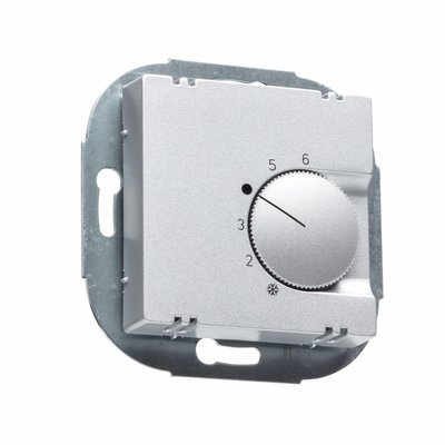 ALRE Raumthermostat FTR 101.000 aluminium glanz für Jung A 500/A Plus/A Creation