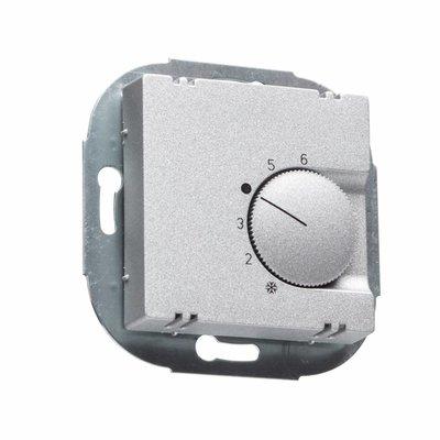 ALRE Raumthermostat FTR 101.000 aluminium matt für Merten M-Plan/M-Pure
