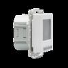 Halmburger Raumthermostat digital für Berker Q.1/Q.3/Q.7 Rahmen