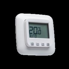 Raumthermostat digital mit Uhr für Busch Jäger Reflex SI