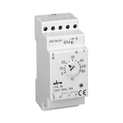 ALRE Temperaturregler elektronisch (Hutschiene) ITR 79.600 5...30°C