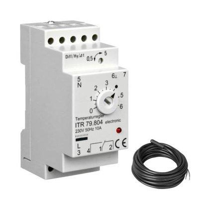 ALRE Temperaturregler elektronisch (Hutschiene) ITR 79.804 0...60°C