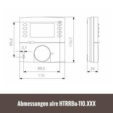 ALRE Fußbodentemperaturregler digital HTRRBu-110.017