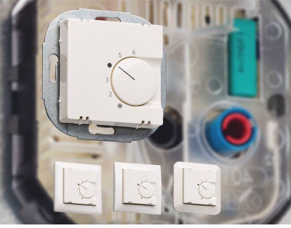 Ein Raumthermostat für alle Schalterprogramme