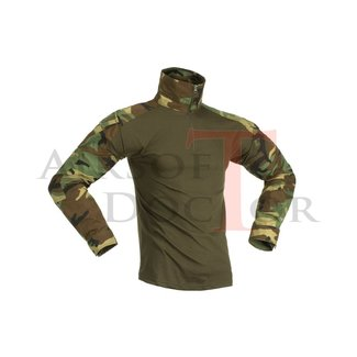 Invader Gear Combat Shirt - Woodland