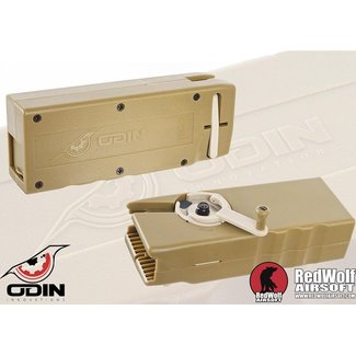 Odin Innovations M12 Sidewinder Speedloader - Tan