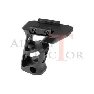 METAL CNC Picatinny Long Angled Grip - Black