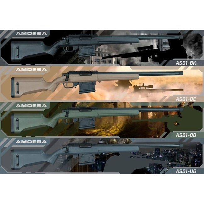 Ares (Amoeba) STRIKER S1 Sniper Rifle - Black