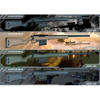 Ares (Amoeba) STRIKER S1 Sniper Rifle - Grey