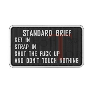 Standardbriefing Rubber Patch