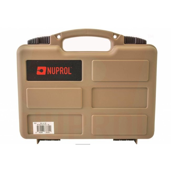 Nuprol Pistol Small Hard Case - Tan