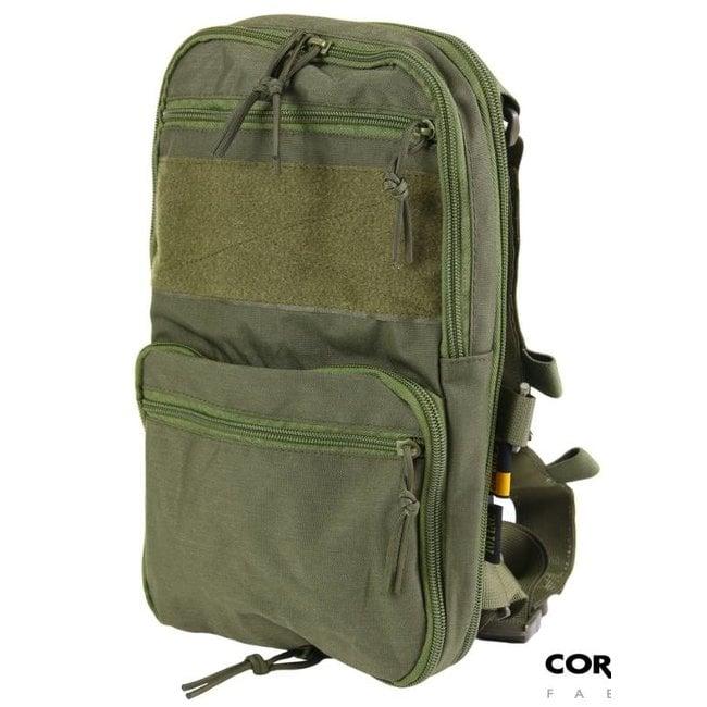 "101 Inc. Backpack ""Flatpack"" - OD"