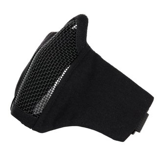 101 Inc. Nylon / Mesh Face Mask - Black