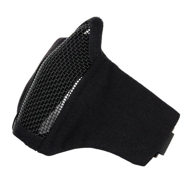 101 Inc. Nylon / Mesh Face Mask - Black