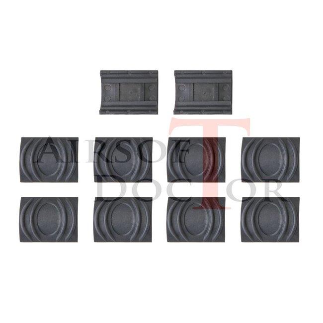 Element Rubber Rail Covers - Black