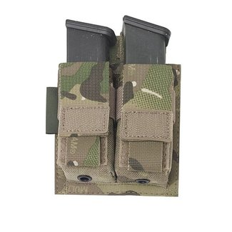 Warrior Assault Systems Double direct Action Pistol Pouch - Multicam