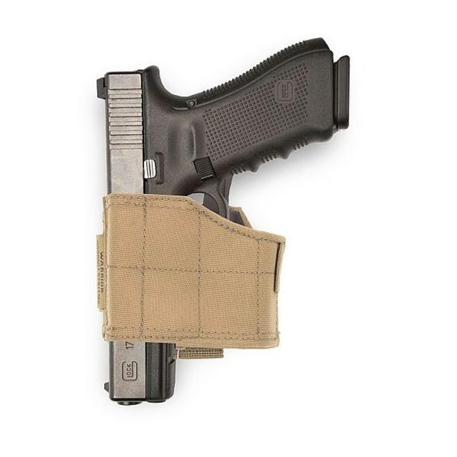 Warrior Assault Systems universal Pistol Holster LEFT - Coyote/Tan