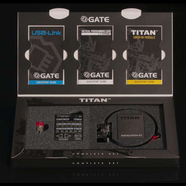 Gate Electronics Titan V2 Complete Set - Rear Wired