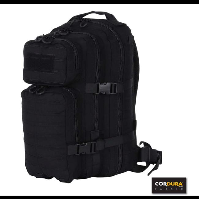 101 Inc. Lasercut 1-day Assault Backpack - Black