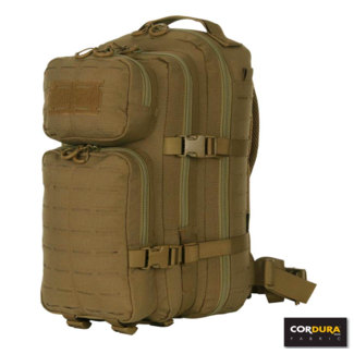 101 Inc. Lasercut 1-day Assault Backpack - Tan