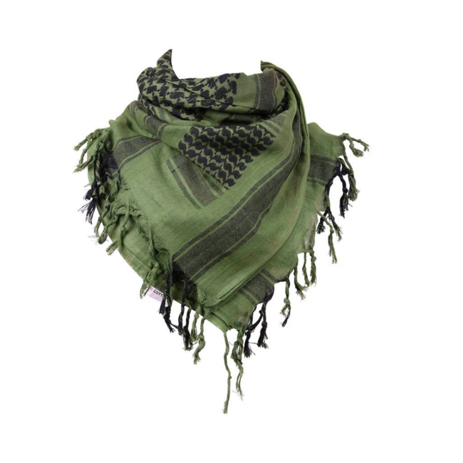 101 Inc. Scarf - Black/Green