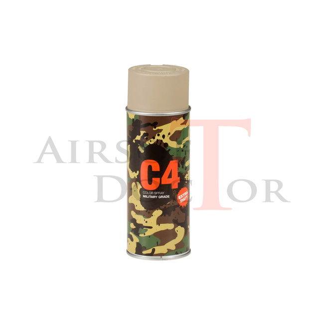 C4 Mil Grade Color Spray RAL 1019