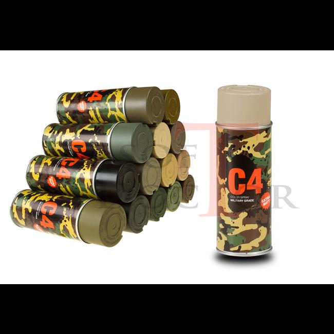 C4 Mil Grade Color Spray RAL 1019