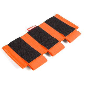 SpeedQB PROTON MAG POUCH - RIFLE (TRIPLE STACK) - ORANGE