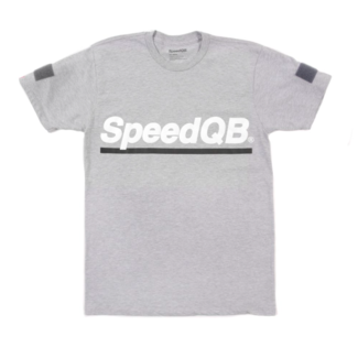 SpeedQB UNDERSCORE T-SHIRT - H. GREY