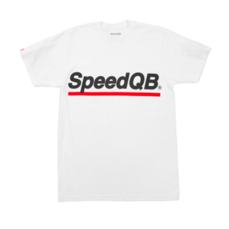 SpeedQB UNDERSCORE T-SHIRT - WHITE
