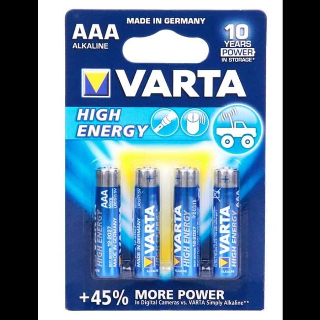 Varta AAA Batterij - Alkaline